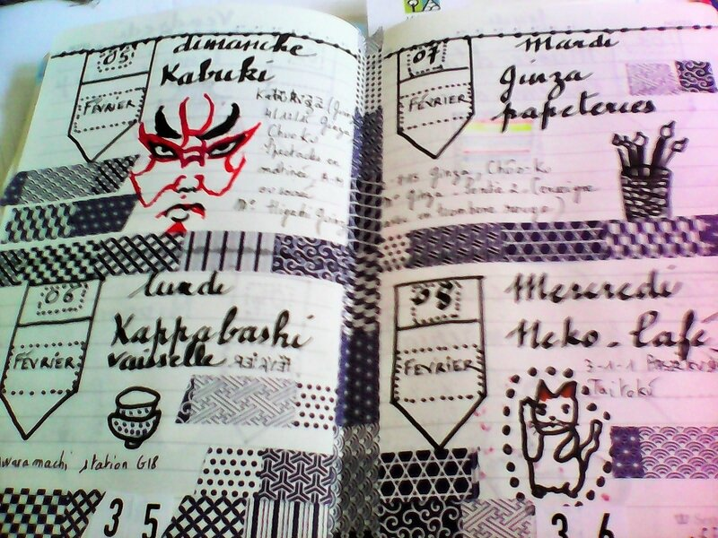 carnet voyage semaine 1 bis japon