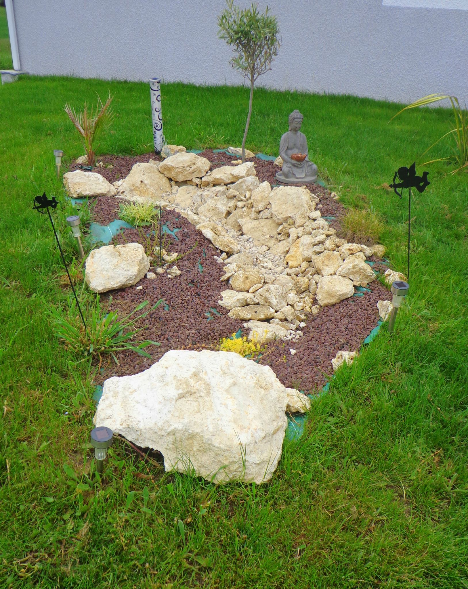D coration de jardin recyclage et cr ation for Jardin creation