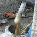 Fabrication du pain de riz