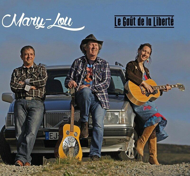 Mary-Lou new album 2017 : le goût de la Liberté