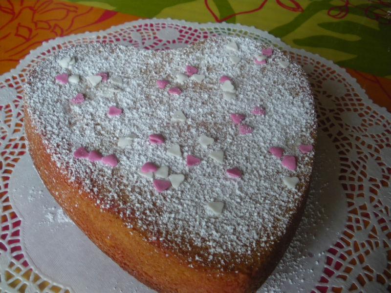 Gâteau pour la Saint valentin