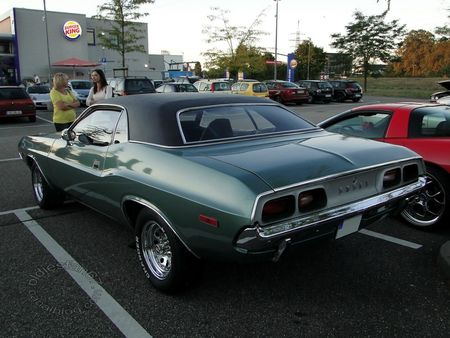 dodge challenger, 1972, rencard du burger king offenbourg 2012 4