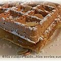 Gaufre orange-lime
