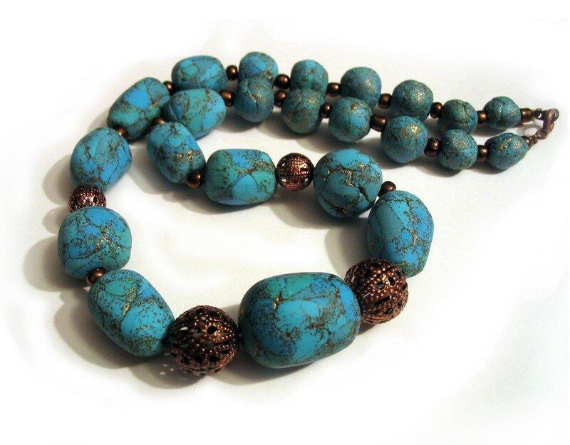 collier turquoise comme la couleur photo de bijoux 2007 le blog de coolest. Black Bedroom Furniture Sets. Home Design Ideas