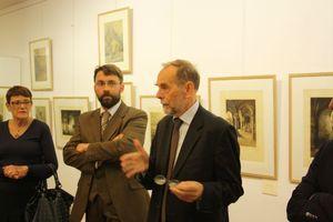 Avranches musée d'art et d'histoire exposition rétrospective Henri Voisin 2012 vernissage