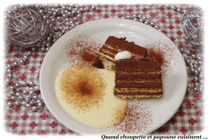 Bûche au chocolat et petits beurre sans cuisson-6599