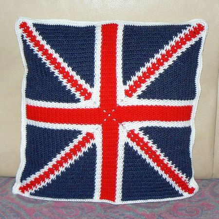 Coussin drapeaux Angleterre