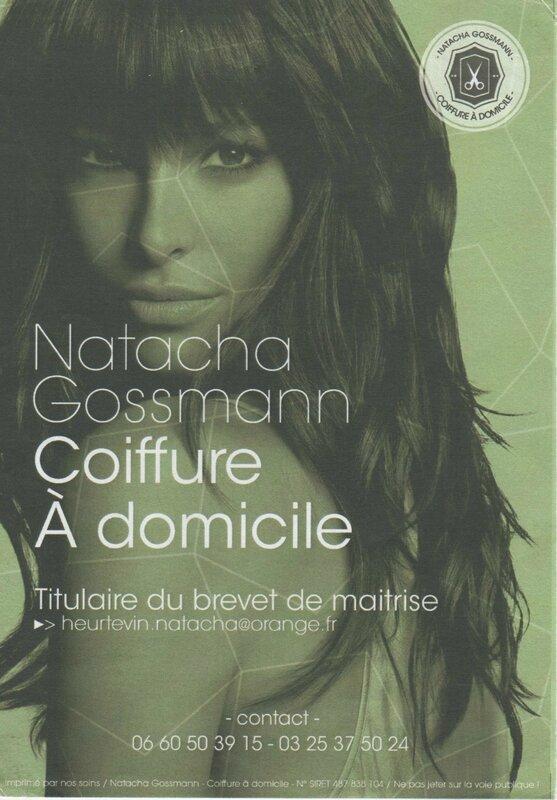 Coiffure à domicile - Natacha Gossmann
