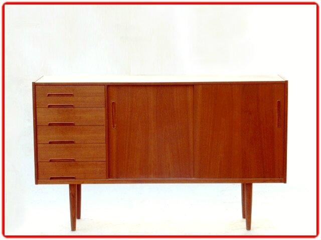 Enfilade Scandinave Designer N Jonsson 1960 Teck