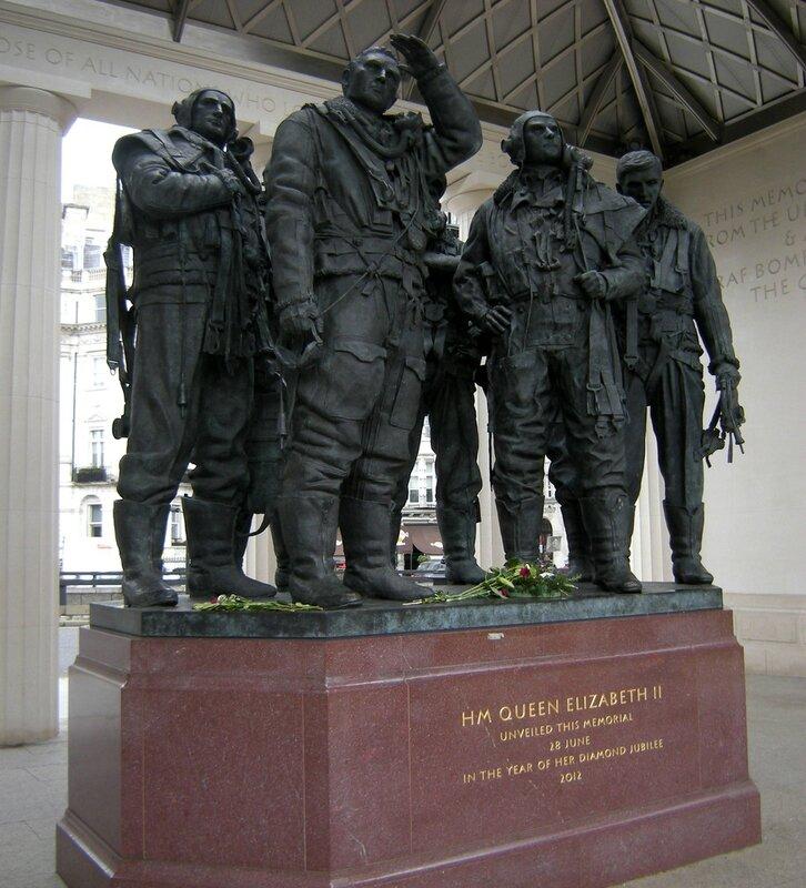 london green park RAF Bomber commande