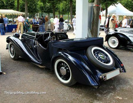 Aero type 50 roadster de 1936 (9ème Classic Gala de Schwetzingen 2011) 02