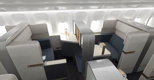 A quoi ressemble la cabine ideale de l 39 a380 d 39 air france for Air france vol interieur