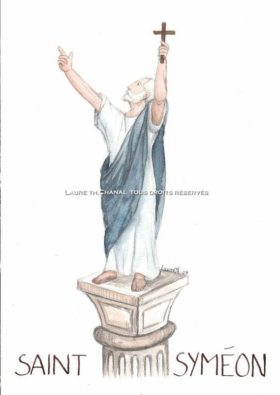 saint Syméon stylite