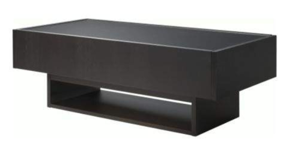 Table basse wenge ikea for Table verre ikea