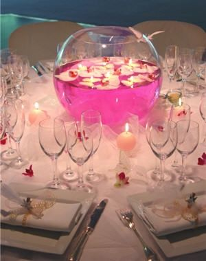 Theme la vie en rose le salon de th le blog d for Centre de table gourmandise