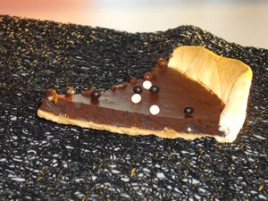 tarte mousse chocolat