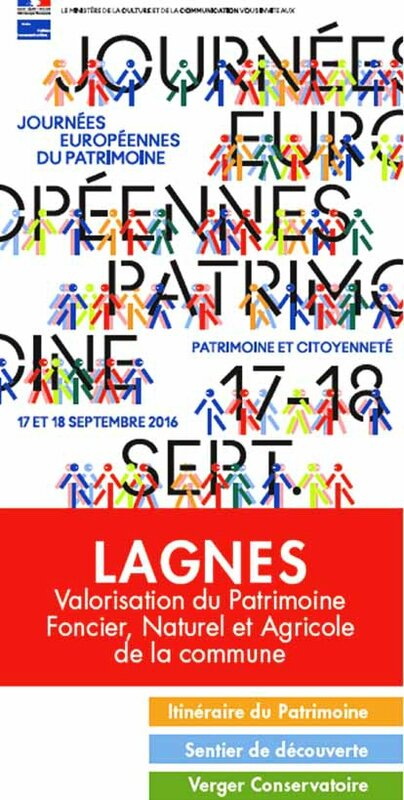 Journée du Patrimoine, Lagnes 2016