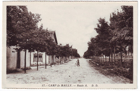 10 - MAILLY LE CAMP - Route A