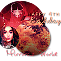 Joyeux 4è anniversaire mirrorcle world!