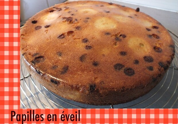 Gateau orange pepite chocolat thermomix