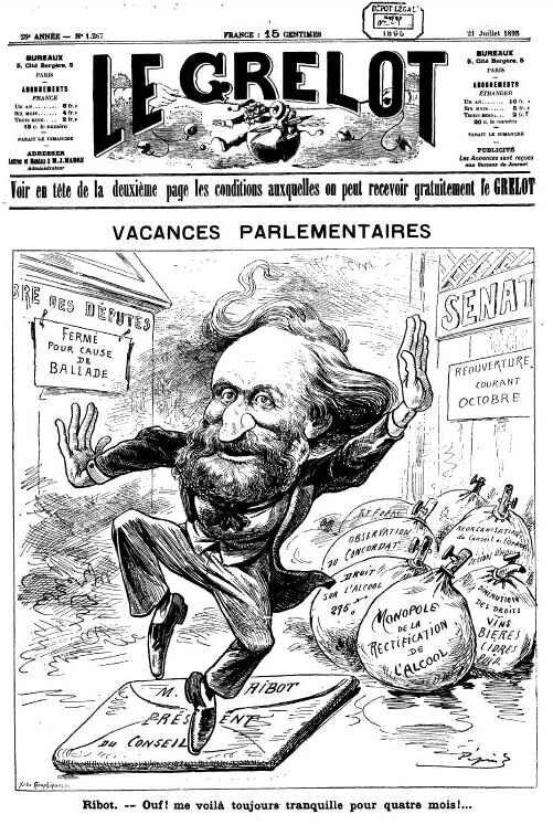 Le Grelot vacances parlementaires