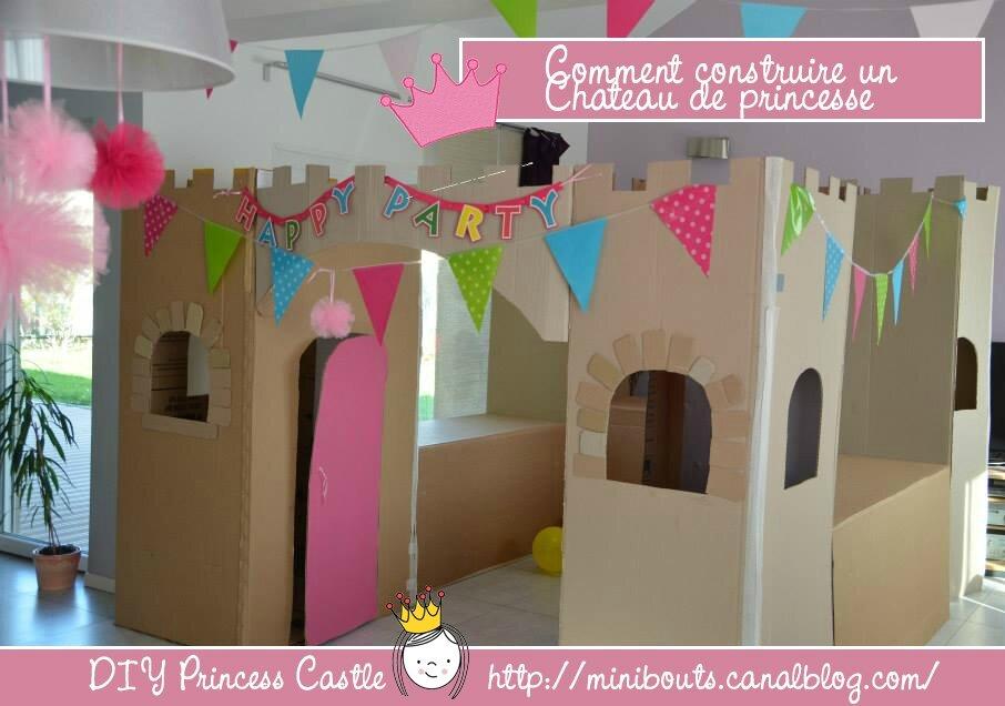 Comment Construire Un Chateau En Carton Nous Et Les Minibouts