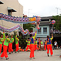 Danse du Dragon sur Joo chiat place