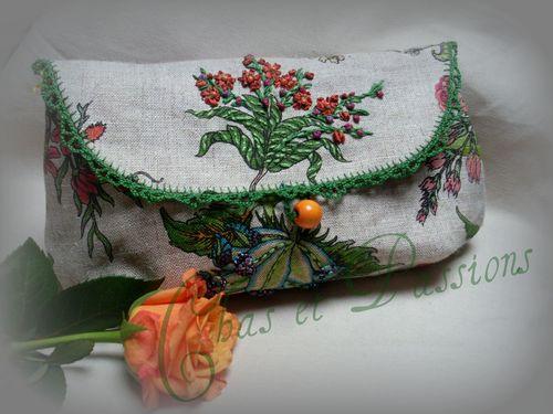 Pochete Flores