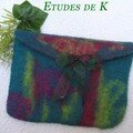 Pochette mrinos et mohair