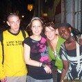 Christophe, Cassandre, Jane et Sarah