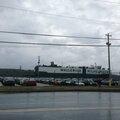 Le cargo qui a transporté le camping-car de Brugges à Halifax