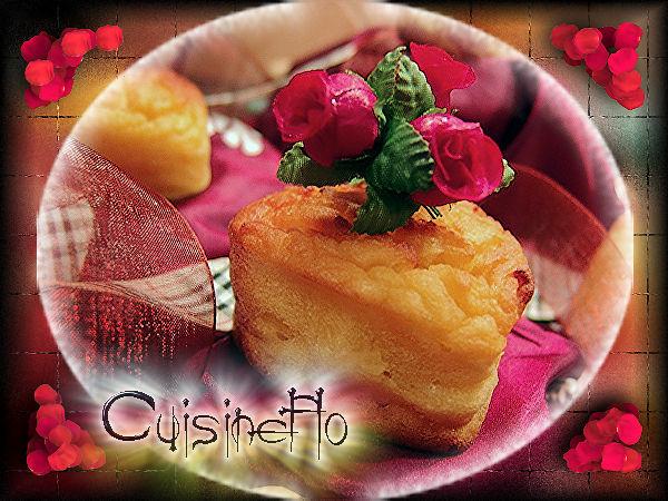 Muffins à la pomme de terre et au citron de Cuisineflo
