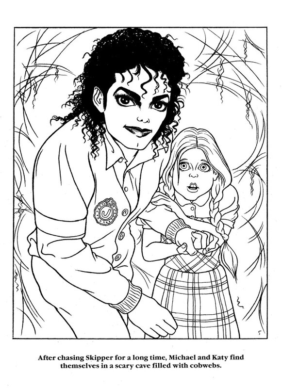 Free Moonwalker 1988 Coloring Pages