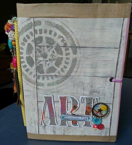Art Journal En Vacances 1