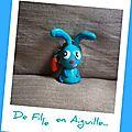 Longue vie au lapin bleu!!