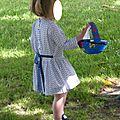 Des triangles pour la robe taille basse des nouveaux intemporels pour enfants#16