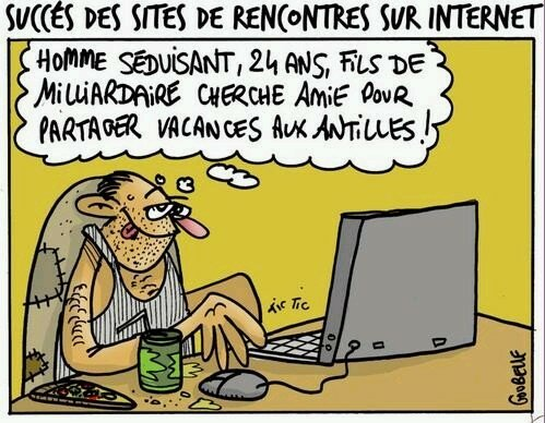Succes des sites de rencontre. La datation.
