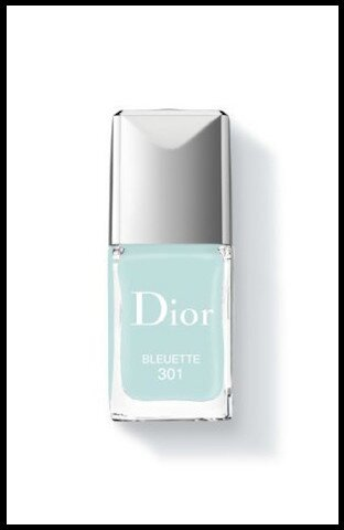 dior glowing gardens vernis ongles bleuette