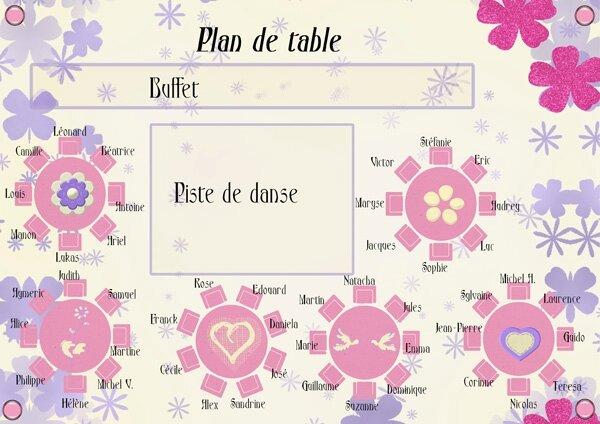Le plan de table wedding 39 s by cristel for Plan de table savoir vivre