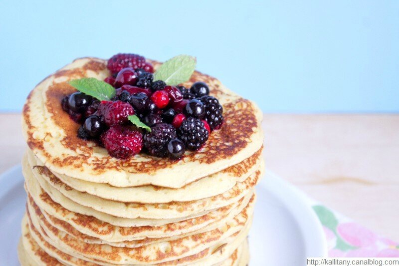 Recette pancakes amande amère frangipane - blog Kallitany (4)