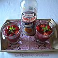 Sangria aux fruits rouges sans alcool