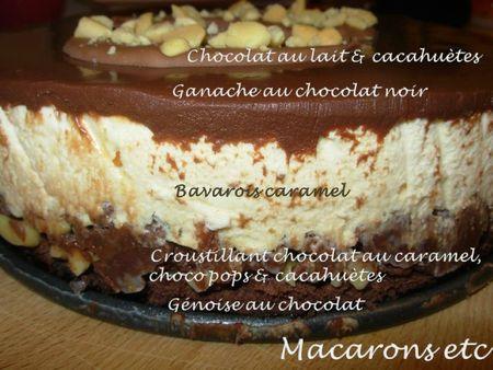 Crousti fondant snickers 2