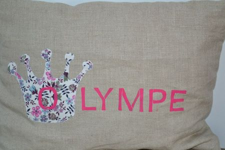 coussin olympe detail