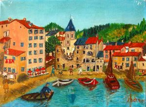 GRAND MERE PARIS Saint florent 24 x 33