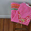 Une petite robe trapèze pour jeanne