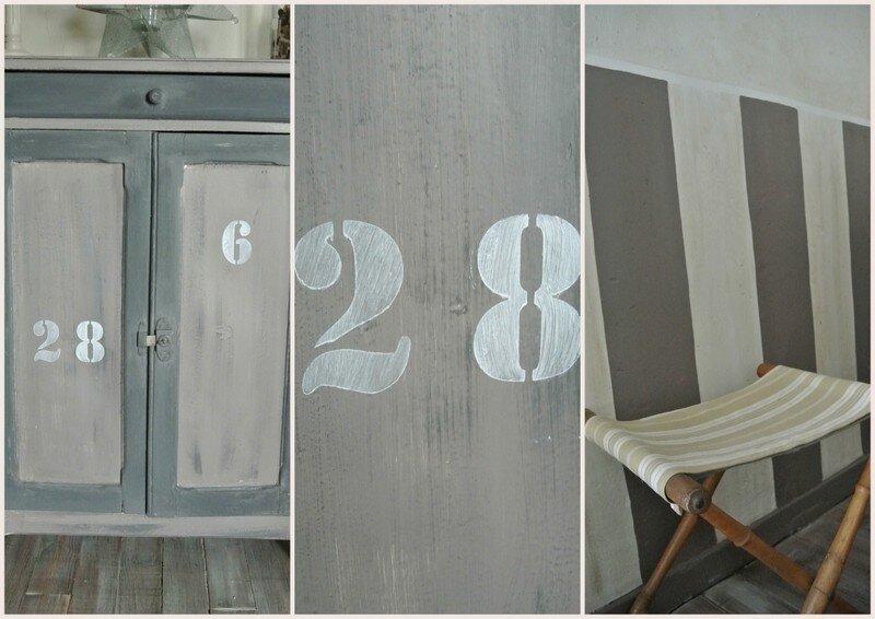 Poussons la porte du bureau seconde partie arastuce le blog - Pochoir style industriel ...
