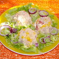 salade de riz ...................