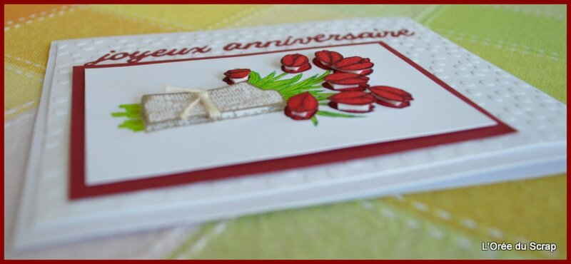 joyeux anniversaire stampin up love is the kidness2