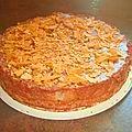 Gâteau crousti-fondant poires-chocolat