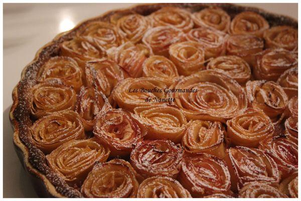 Tarte bouquet de roses 2